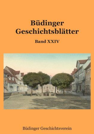 Büdinger Geschichtsblätter Band 24